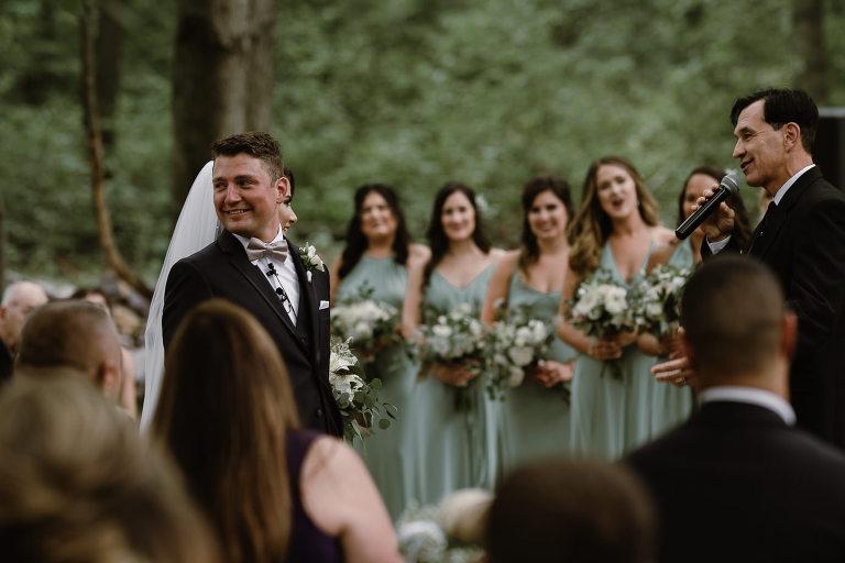 Wedding in the Woods   Wisconsin Dells Wedding